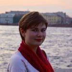 Darya in St. Petersburg, Russia