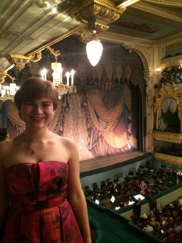 At the Mariinsky!!