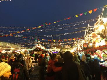 The Red Square market. So many people, so many smells. Russia is at its best during New Years' celebrations and the delightful festivity is too happy to not join.
