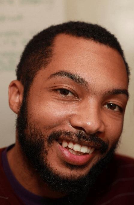 Close-up photo of Jonah smiling