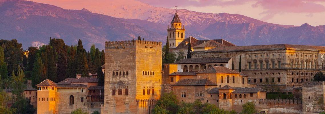 Anthony in Granada, Spain