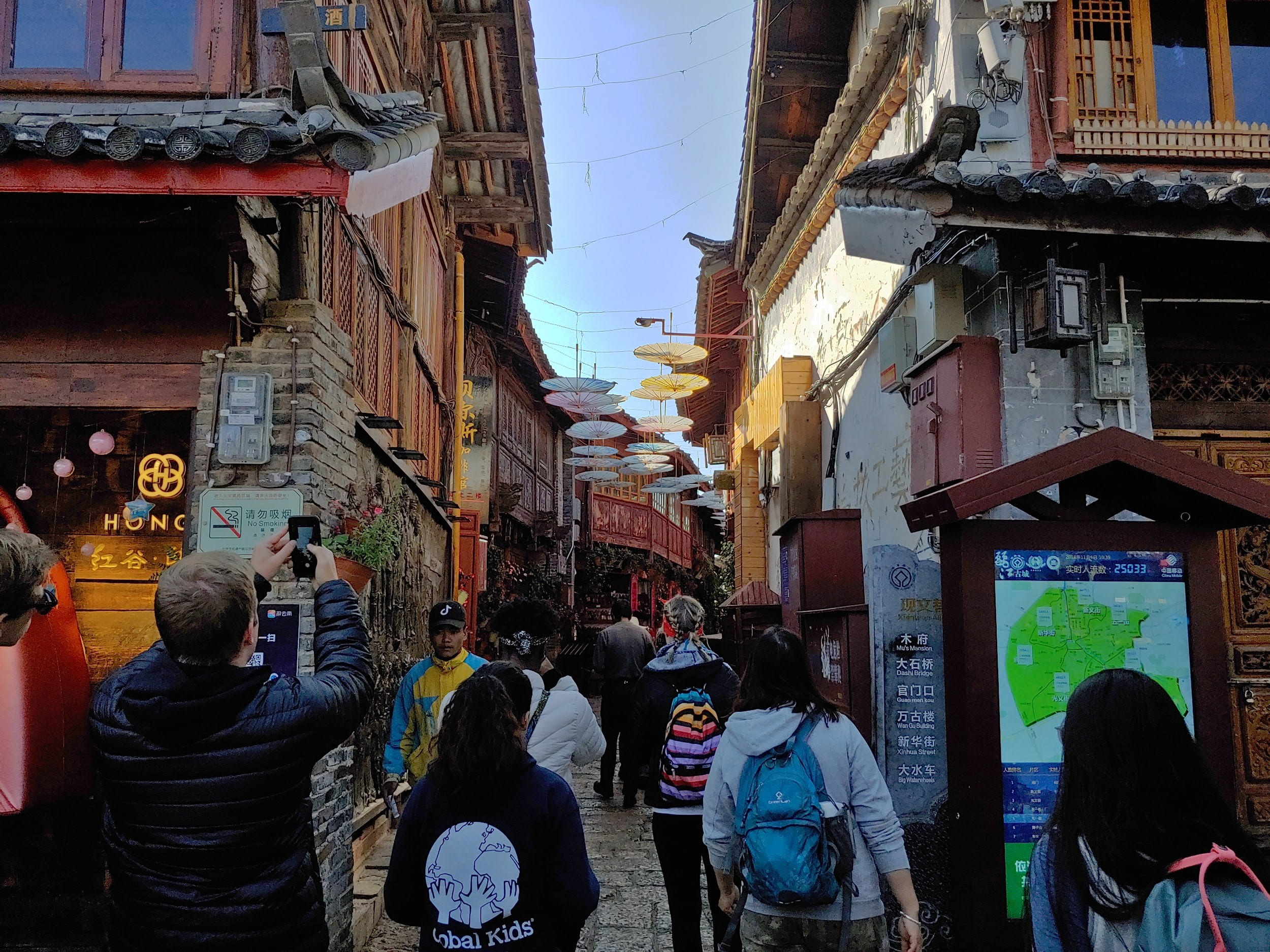 Lijiang Town in Yunnan Province, China