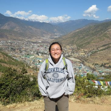 Sustainability Fellow: Yuko in Paro, Bhutan