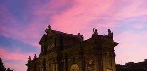 Madrid sunset