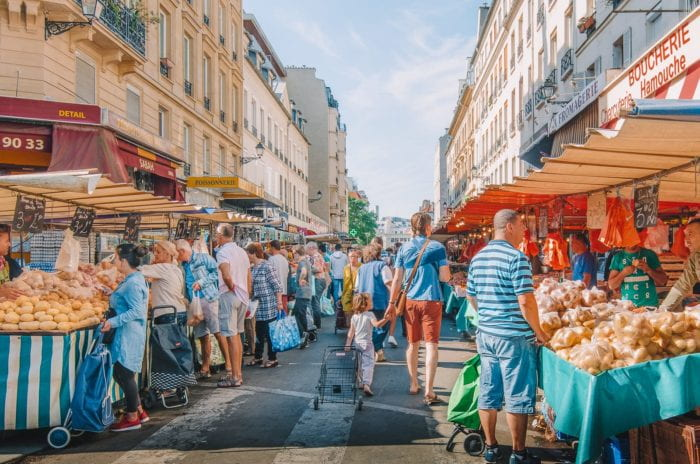 Parisian Outdoor Market