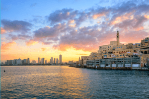 The city of Tel Aviv