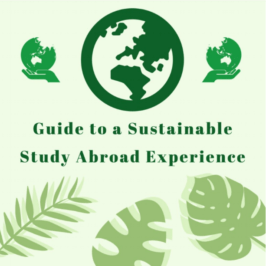 Guide to A Sustainable Study Abroad Experience