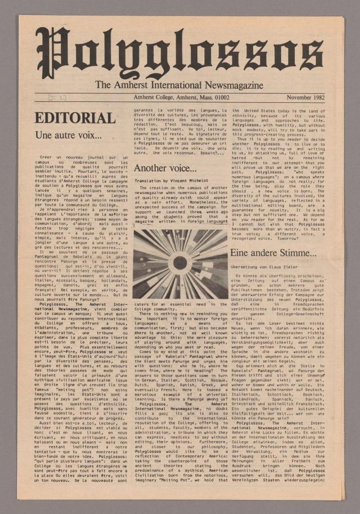 original Polyglossos publication