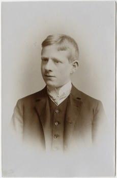 Portrait of Karl Loewenstein as a child