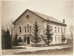 "Lovell, John L., 1825-1903, ""Barrett Gymnasium at Amherst College,"" Digital Amherst, accessed July 25, 2017, http://www.digitalamherst.org/items/show/213."