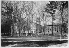 """Lovell, John L., 1825-1903, """"Amherst College campus and grove,"""" Digital Amherst, accessed July 25, 2017, http://www.digitalamherst.org/items/show/172."""