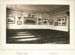"""Lovell, John L., 1825-1903, """"Latin classroom at Amherst College,"""" Digital Amherst, accessed July 25, 2017, http://www.digitalamherst.org/items/show/185."""