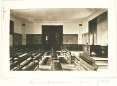 """Lovell, John L., 1825-1903, """"Mathematics room in Walker Hall at Amherst College,"""" Digital Amherst, accessed July 25, 2017, http://www.digitalamherst.org/items/show/230."""