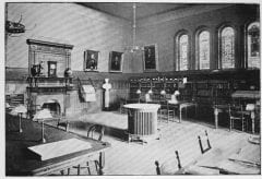 """Lovell, John L., 1825-1903, """"Interior of Morgan Library at Amherst College,"""" Digital Amherst, accessed July 25, 2017, http://www.digitalamherst.org/items/show/155."""