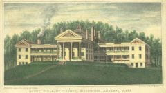 """Cardella, Liberato, """"Mount Pleasant Classical Institute in Amherst,"""" Digital Amherst, accessed July 25, 2017, http://www.digitalamherst.org/items/show/750."""