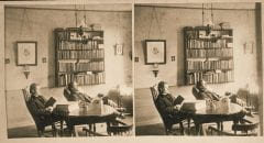 """Lovell, John L., 1825-1903, """"Room no. 12, North College dormitory at Amherst College,"""" Digital Amherst, accessed June 16, 2017, http://www.digitalamherst.org/items/show/570."""