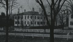 """Lovell, John L., 1825-1903, """"First President's House at Amherst College,"""" Digital Amherst, accessed June 16, 2017, http://www.digitalamherst.org/items/show/261."""