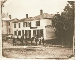 """Lovell, John L., 1825-1903, """"Field Building in Amherst,"""" Digital Amherst, accessed July 25, 2017, http://www.digitalamherst.org/items/show/447."""