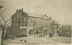 "Lovell, John L., 1825-1903, ""Phoenix Row in Amherst,"" Digital Amherst, accessed June 16, 2017, http://www.digitalamherst.org/items/show/406."