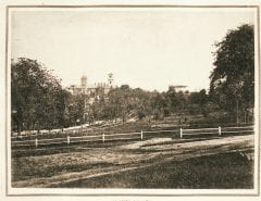 """Lovell, John L., 1825-1903, """"Amherst Town Common,"""" Digital Amherst, accessed June 16, 2017, http://www.digitalamherst.org/items/show/491."""