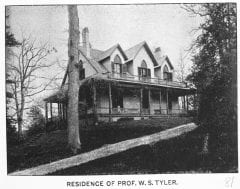 "Lovell, John L., 1825-1903, ""Residence of Professor William S. Tyler in Amherst,"" Digital Amherst, accessed June 12, 2017, http://www.digitalamherst.org/items/show/170."