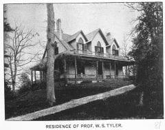 "Lovell, John L., 1825-1903, ""Residence of Professor William S. Tyler in Amherst,"" Digital Amherst, accessed June 12, 2017, http://www.digitalamherst.org/items/show/170."