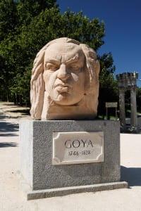 Goya en el Parque San Isidro