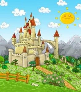 Un castillo en el campo