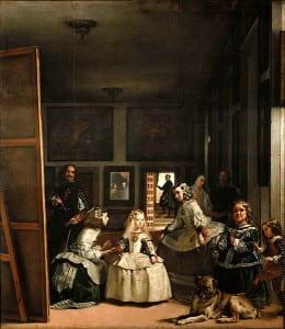 La pintura Las Meninas por Diego Velázquez