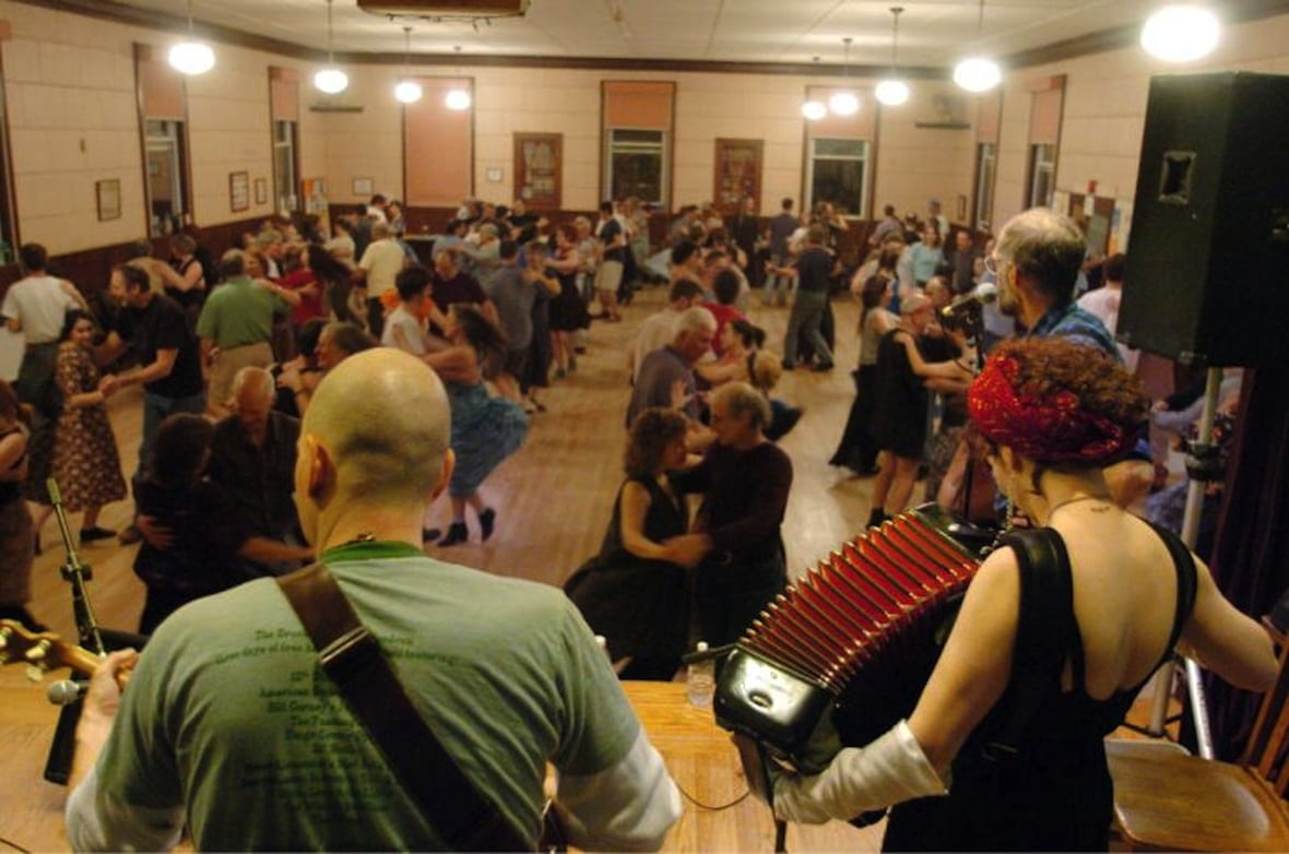 Take Hands Four Contradance