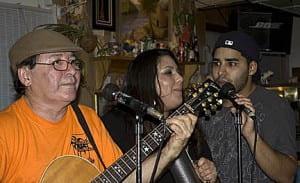 Ismael Beatriz and Marcus Santiago singing