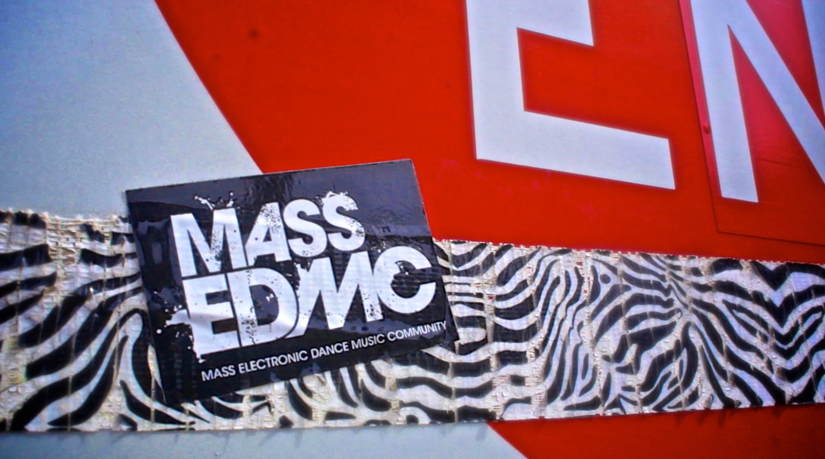 Mass EDMC sticker