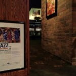 Entry sign to Jazz performance