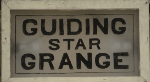 Guiding Star Grange sign