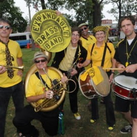 Banding Together in Northampton: The Expandable Brass Band (2014)