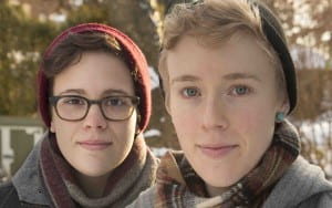 Portrait of Hannah and Maggie