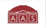 AAS american antiquarian society logo