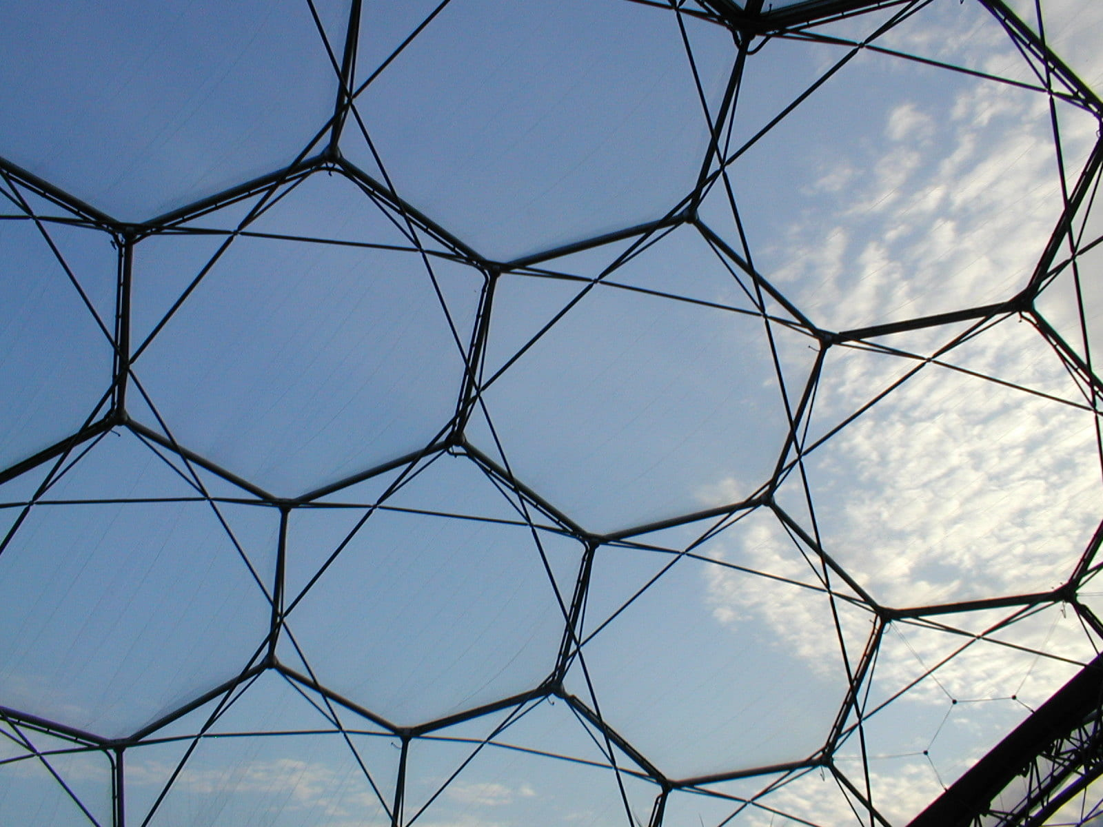 hexagonal metal framework