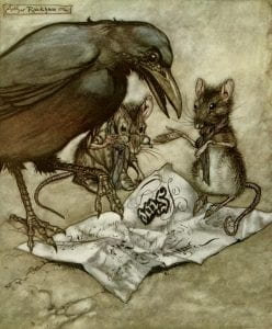 rackham mice bird page