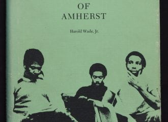 Cover of Black Men of Amherst by Harold Wade, 1976