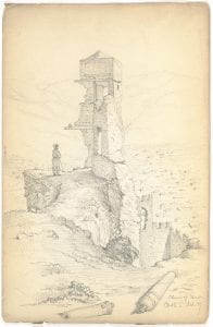 Henry Van Lennep, untitled sketch, ca. 1844