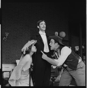 Photographs of Pygmalion in Kirby Theater, 1969 August 26