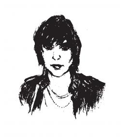 Drawing of Julian Casablancas