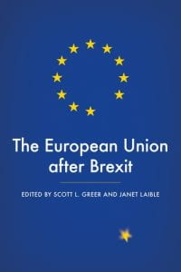 Book cover of The European Union after Brexit