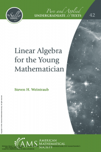 Cover of Linear Algebra for the young mathemetician