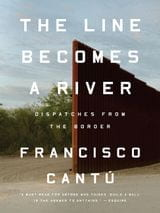 Book cover for The Line Becomes a River