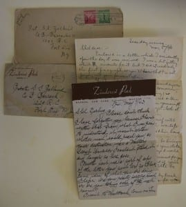 Letters to Zalkind from his mother