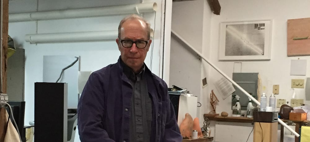 Scott Sherk in his Orefield studio.