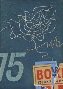 Fujita Fumio, Bird Graffiti A, 1968, Woodblock print 14/100