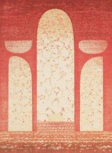 Yoshida Toshi, 30th Century, 1969, Woodblock Print, 11/200